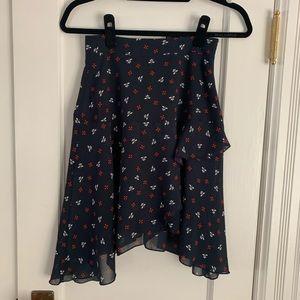 H&M waterfall skirt